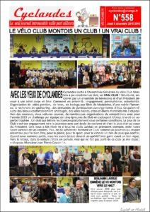 cyclandes loto vélo club montois septembre 2020