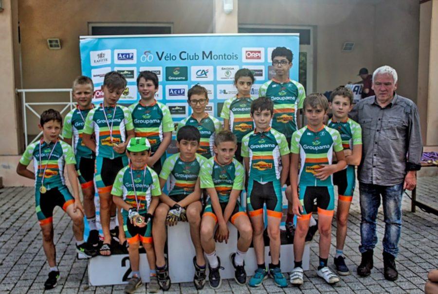 jeunes vélo club montois